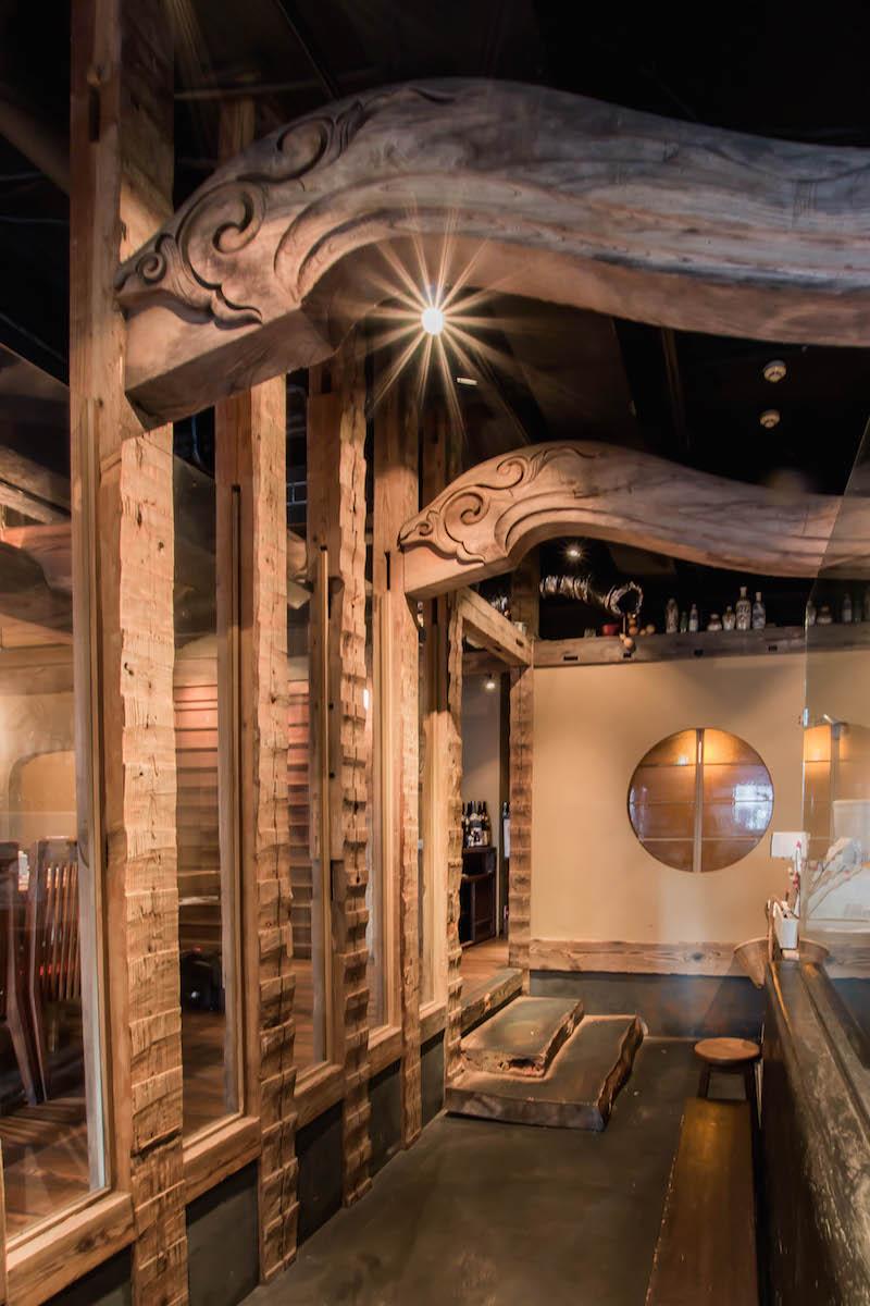 社寺古材を使用した施工事例