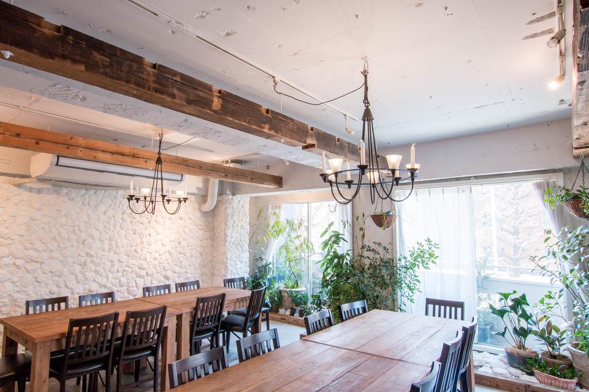 古民家カフェの施工事例
