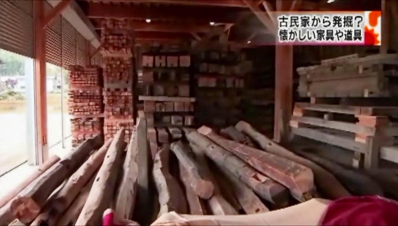 古材 テレビ放送4