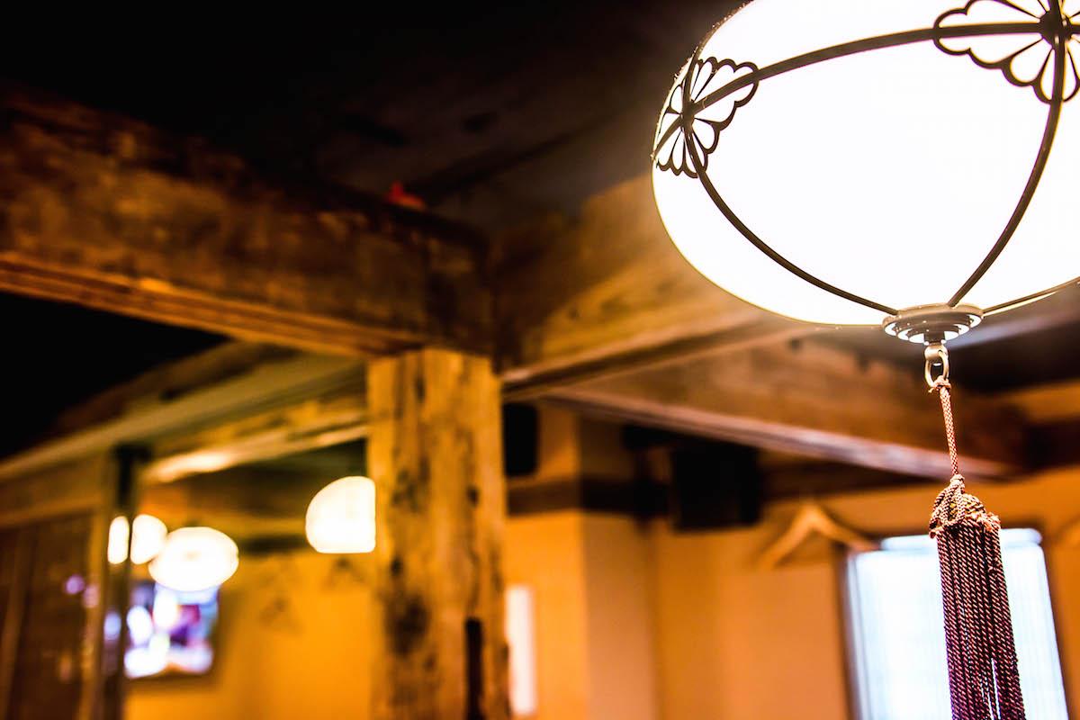 古民具、灯り