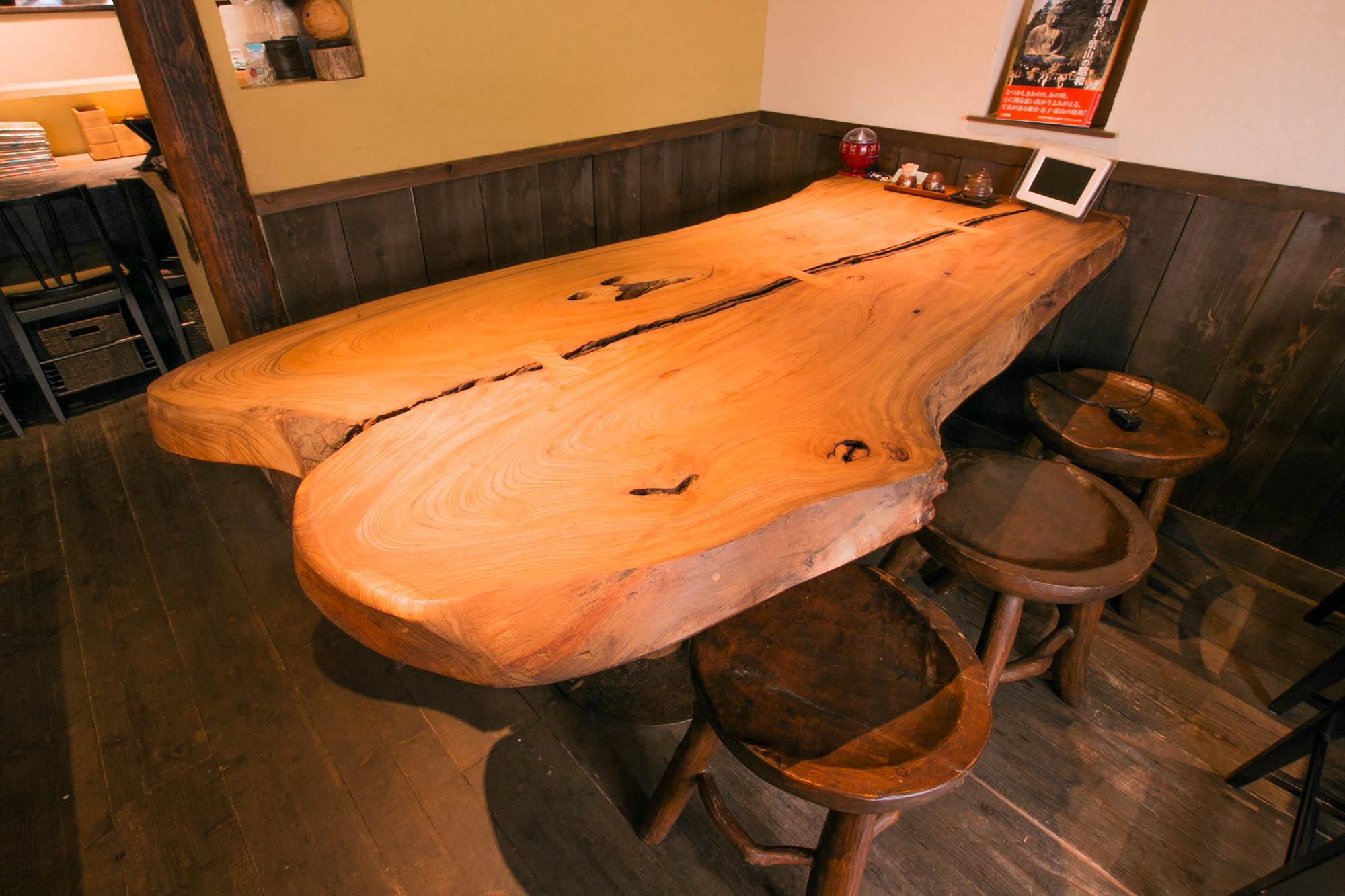 無垢材・一枚板テーブル材